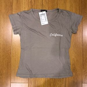 BNWT Brandy California Tee